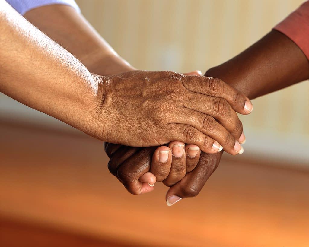 Decorative Image - Holding hands